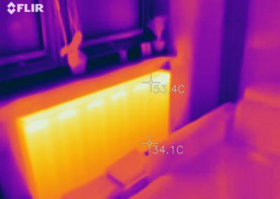 FLIR szukanie mostków termicznych