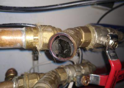 Czyszczenie instalacji - Brak przeglądu, czyszczenie filtra