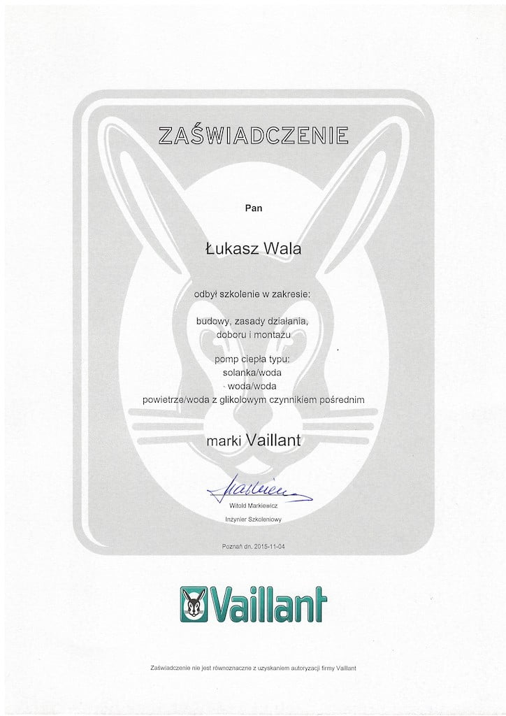 Vaillant geoTherm